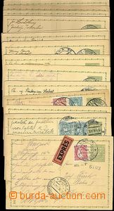 62770 - 1933-70 ČSR I. + ČSR II., partie 46ks dopisnic, obsahuje n