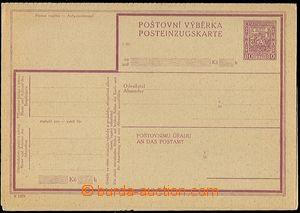 62773 - 1929 CPV12Bb, kompletní výběrka, česko - německý text,