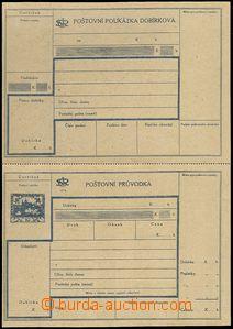62774 - 1920 CDP3A Hradčany, dobírková průvodka, český text, k