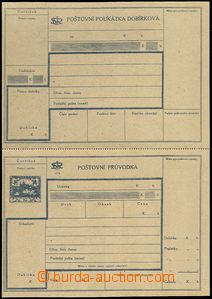 62774 - 1920 CDP3A Hradčany, C.O.D. dispatch-note, Czech text, comp