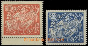 62916 -  Pof.173A T II. + 174A T II., mint never hinged, value 200h