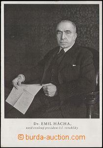 62923 - 1938 HÁCHA Emil (1872–1945), prezident Česko-Slovenské repub