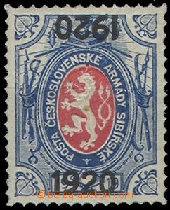 62987 - 1919 Pof.PP6, stamp. with two added-print 1920, 1x normal an