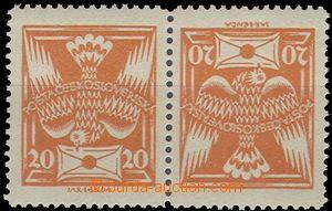 63051 -  Pof.148TBa, protichůdná dvojice úzká, svěží, kat. 80