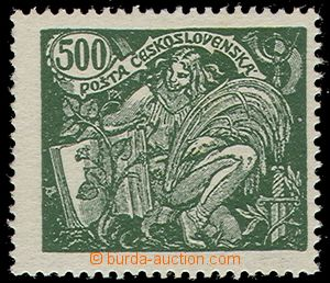63082 -  Pof.168B, 500h, comb perforation 13¾:13½;, marked