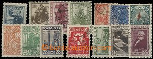 63138 - 1929-33 comp. 14 pcs of stamps, contains Mi.364, 379, 381-2,