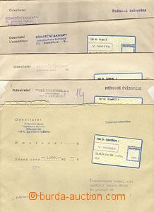 63323 - 1994 comp. 5 pcs of money letters with labels T I. - Havíř