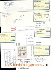 63324 - 1994 comp. 5 pcs of various entires with labels T I. - Brno