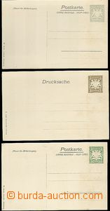 63342 - 1906 BAYERN (BAVARIA), comp. 3 pcs of private special PC to