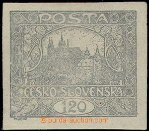 63398 -  Pof.21b, 120h stříbřitě šedá, zk. Gi., kat. 5000Kč