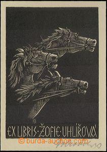 63435 - 1925 DOBROVOLSKÝ Jaroslav (1895–1942), ex libris Žofie U
