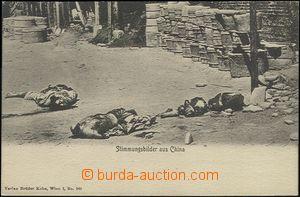 63528 - 1910? popravy v Číně, ze série Stimmungsbilder aus China (Ve