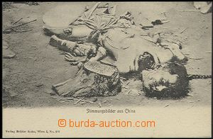 63529 - 1910? popravy v Číně, ze série Stimmungsbilder aus China