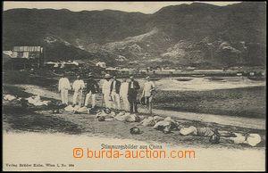 63531 - 1910? popravy v Číně, ze série Stimmungsbilder aus China