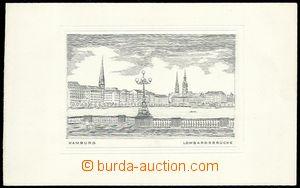 63623 - 1910? unknown author, graphic sheet with gravure, Hamburg -