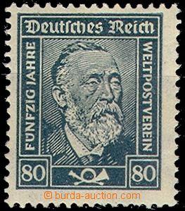 63651 - 1924 Mi.363 H.von Stephan, svěží, kat. 70€