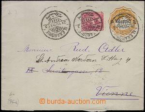 63682 - 1892 celinová obálka 5Mil. dofrank. zn. 5Mil., DR Alexandrie
