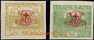 63794 -  Pof.170-171Nc Červený kříž, nevydané, nezoubkované s