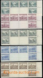 63828 - 1940 Pof.45-49 Krajinky II., vodorovné dolní podkovy VK-6
