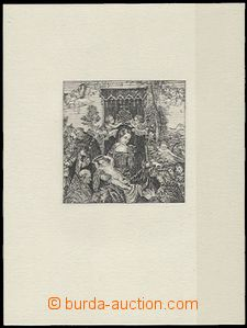 63833 - 1968 PT4N PRAGA ´68 Rosary celebration, unissued special co