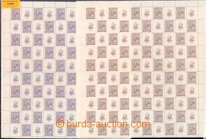 63885 - 1941 Pof.62-63 A.Dvořák, celé PA s okraji, v perforaci p�