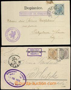 63896 - 1903 SCHWARZER SEE, BÖHMERWALD; LYSAHORA/ LYSÁ HORA  sesta