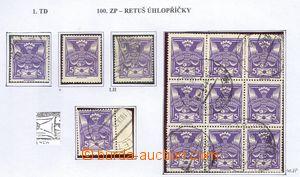 63942 -  Pof.144, retuš 5h fialová, zpracování retuše na ZP 100