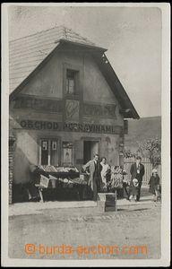 63961 - 1932 Řevnice, obchod potravinami, nepoužitá, dobře zachovalá