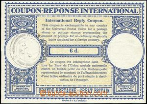 64086 - 1946 international reply coupon (London Design ) with value