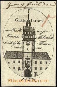 64105 - 1823 novoroční blahopřání od výběrčích mýta v brá
