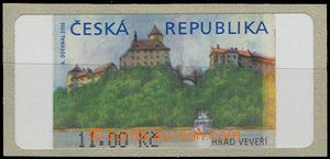 64131 - 2000 Pof.AT1 Veveří (castle), value 11CZK without *, with