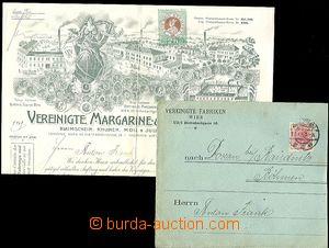 64134 - 1905 dopisní obálka včetně zdobené faktury firmy Verein