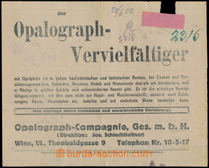 64181 - 1922 2x form/blank on/for long text telegram, on reverse adv