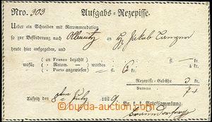 64191 - 1829 recepis, ručně psáno Olmütz, zachovalé