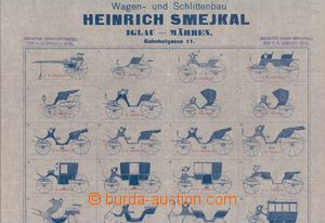 64201 - 1900 katalog firmy Heinrich Smejkal, Jihlava, výroba kočárů,