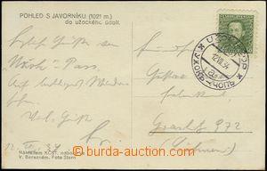 64282 - 1934 pohlednice s razítkem VLP č.1001, UŽOK - ČOP/ 12.VI