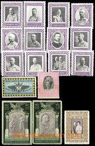 64323 - 1914 Propaganda, konvolut 17ks propagačních a příspěvkových
