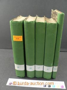 64328 - 1891-1913 sestava 5ks německy psaných knih, 2x Philatelistis