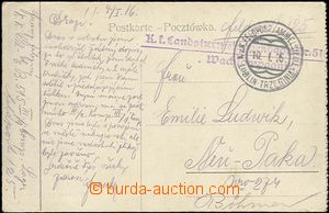 64356 - 1916 KuK Feldpostsammelstelle/ LUBLIN - TRZEBINIA/ 10.I.16,