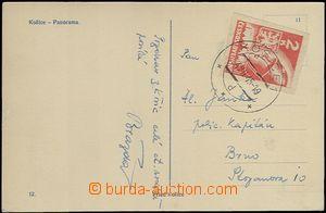 64485 - 1945 fotopohled Košice vyfr. košickou zn. 2K, Pof.354, DR