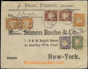 64502 - 1899 GERMANY - Bavaria  identification entire firm J.Bach to