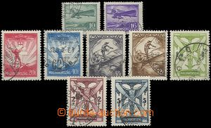 64586 - 1933 Mi.502-510, air-mail incl. highest value 5P (small/rare