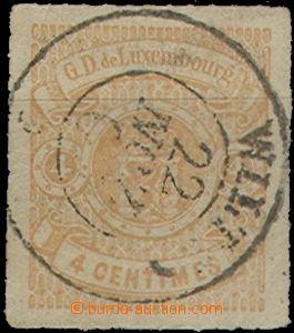 64599 - 1859 Mi.5, 4c yellow, nice piece, c.v.. 220€