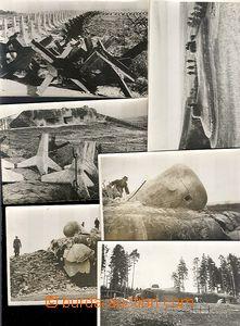 64617 - 1939-40 sestava 11ks pohlednic s fotografiemi bunkrů, zkou�