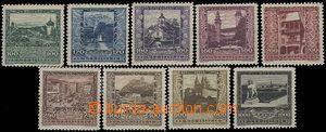 64631 - 1923 Mi.433-441, Zemská hlavní města, kat. 50€