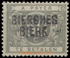 64643 - 1919 Mi.16 Postage due stmp, with controlling overprint Bier