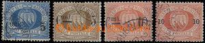 64653 - 1892 Mi.8-11, přetiskové, kat. 67€