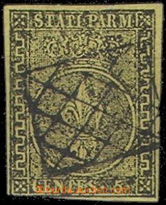 64722 - 1852 Mi.1a Znak, nepravidelný střih, čisté razítko, dob