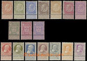 64733 - 1893-1905 Mi.53-59, 61-63, 71-77, c.v.. 710€