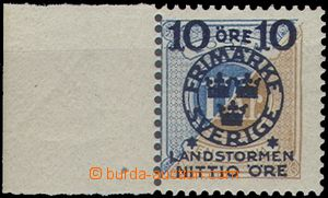 64740 - 1916 Mi.106 Charitable stamps, highest value, marginal piece